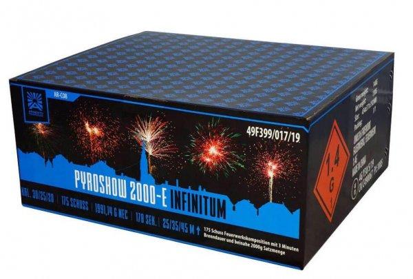 Pyroshow 2000-E Infinitum - Großartiges XXL Komplettfeuerwerk von Argento