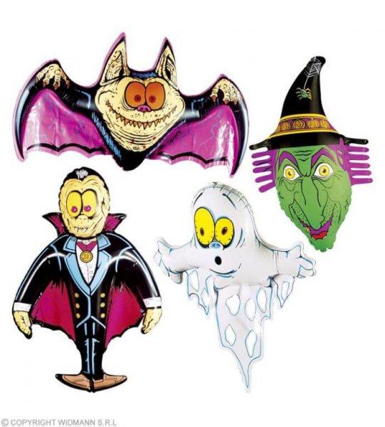 Schaurige aufblasbare Halloween Figuren
