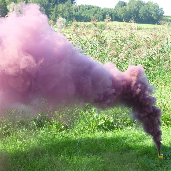 Mr. Smoke 2 - granatrot