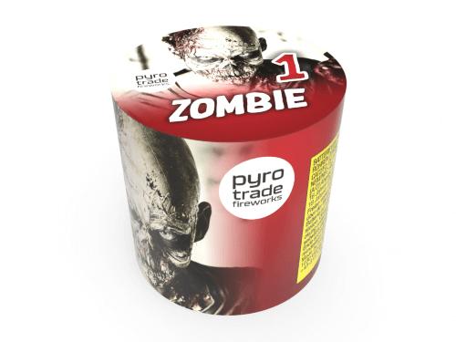 Pyrotrade Zombie 1 - 9 Schuss Feuerwerk