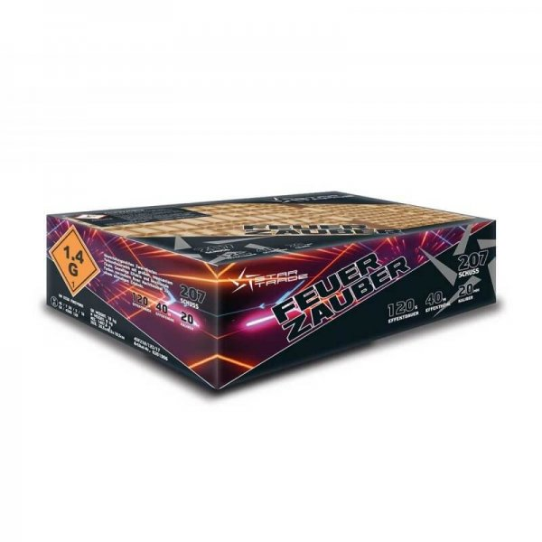 Feuerzauber - Mega Feuerwerk mit 207 Schuss von Startrade