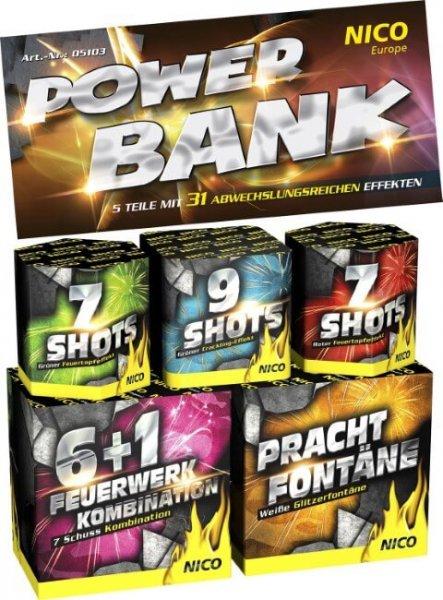 Nico Power Bank 5er Beutel Feuerwerk