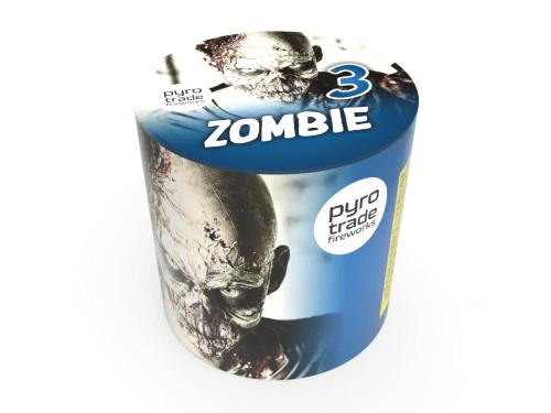 Pyrotrade Zombie 3 - 9 Schuss Feuerwerk