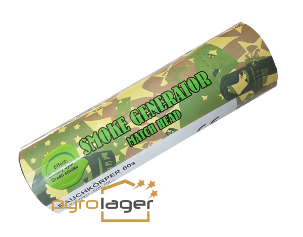 TXF933 - Grün Rauchkörper mit Reibezünder von Triplex