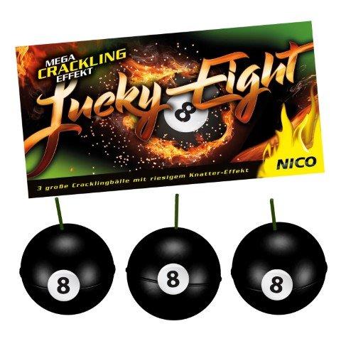 Lucky Eight Knatterbälle von Nico