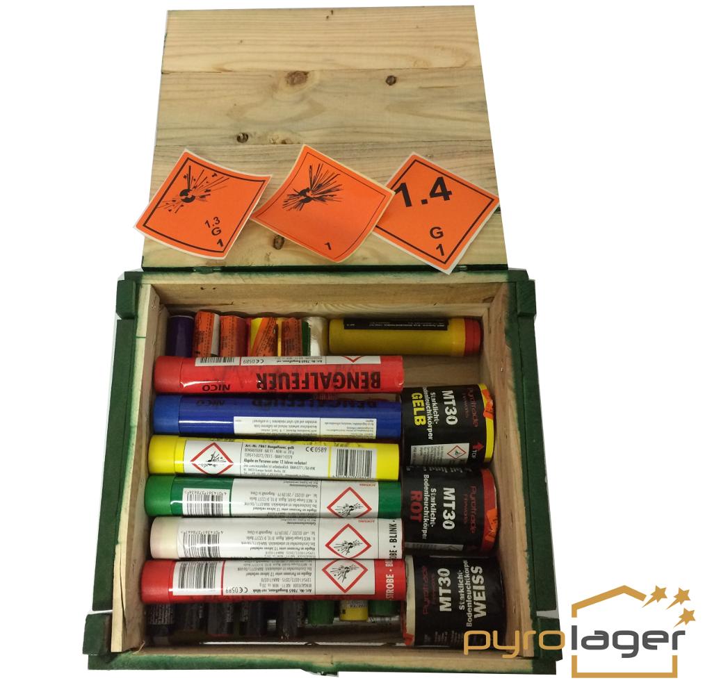 mega Bengalo Kiste XXL vom Pyrolager.de