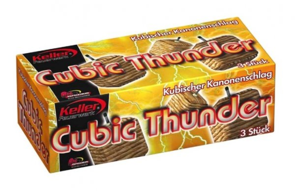 Cubic Thunder - 3er Pack