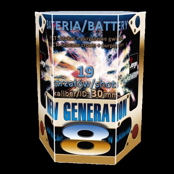 JW38 - New Generation 8 F3 Feuerwerk