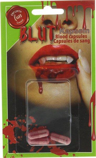 Blutkapseln rot 3er Pack