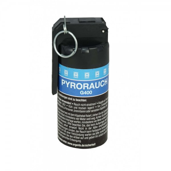 Pyrorauch G400 blau