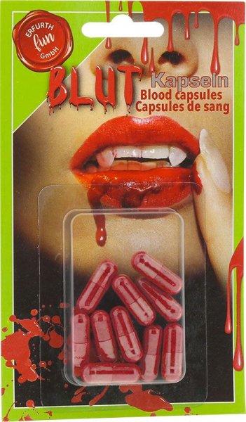 Blutkapseln rot 10er Pack