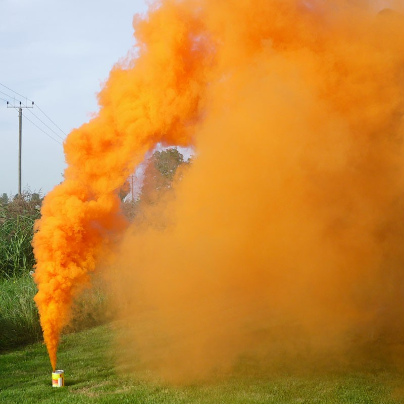 Mr. Smoke 4 - orange