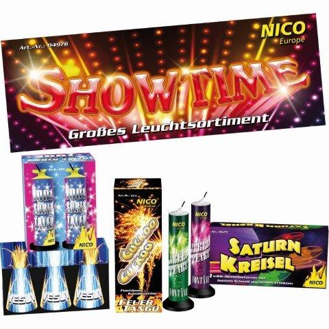 Showtime - 11 teiliges set leuchtfeuerwerk