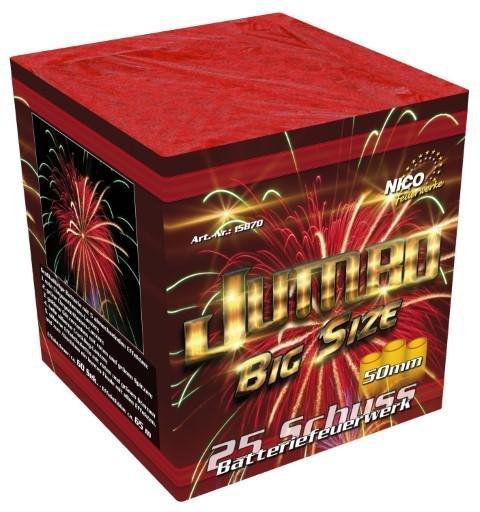 Jumbo Big Size 50mm F3 Feuerwerk von Nico