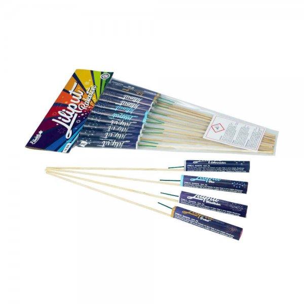 10 kleine Liliput Raketen Raketen von Funke von Funke Feuerwerk