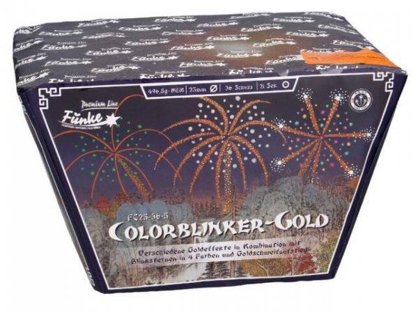 Colorblinker - Gold Funke