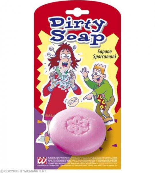 Schmutz Seife macht die Hände nicht sauber sondern dreckig
