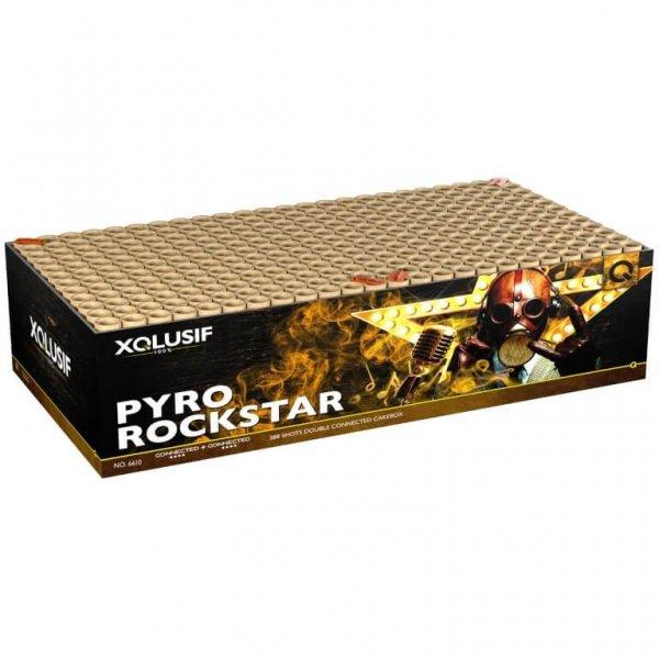 Pyro Rockstar - Mega XXL Feuerwerk in einer Box