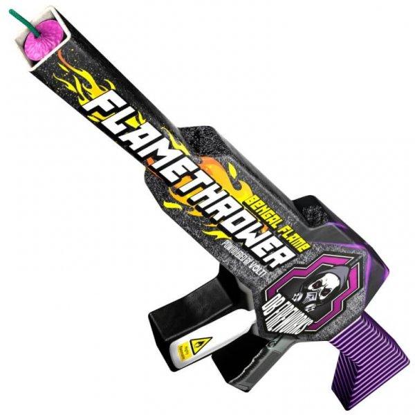 FlameThrower - Lustige F1 Fontäne in Form eines Gewehrs