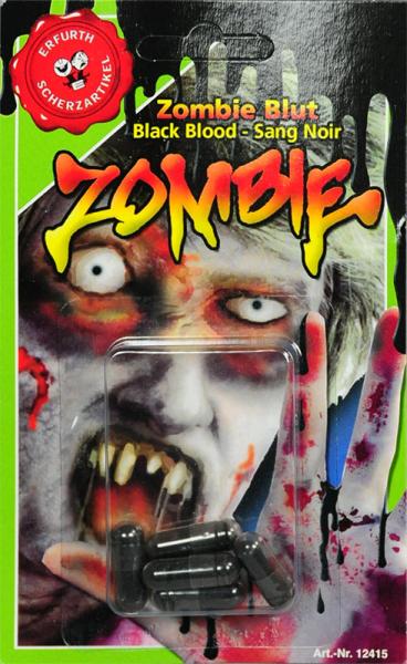 Schwarzes Zombie Blut