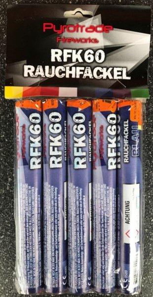 Rauchfackeln Blau - 5er Pack im Pyrolager.de