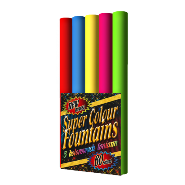JF33 - Super Color Fountains