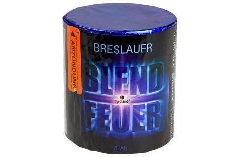 Breslauer Blendfeuer blau