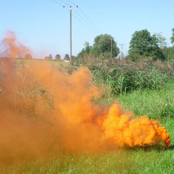 Mr. Smoke 2 - orange