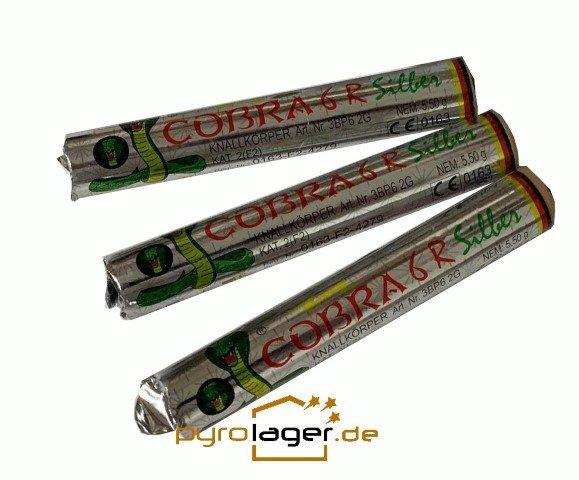 Cobra6 R Silber Böller - Di Blasio mit Reibekopf