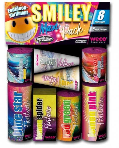 Tolles Kinderfeuerwerk Smiley Pack von Weco.