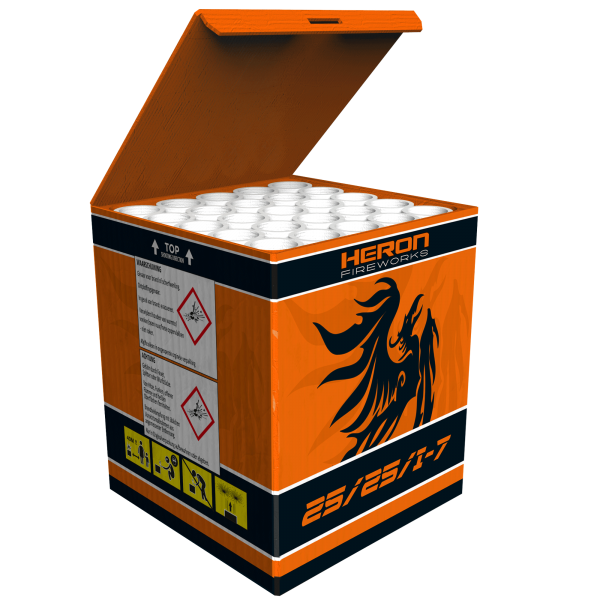 25/257i-7 Leises Feuerwerk von Heron im Webshop