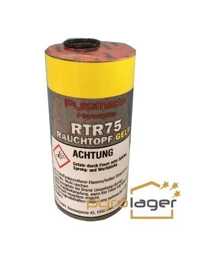 Rauchtopf RTR75 Gelb - Pyrolager.de
