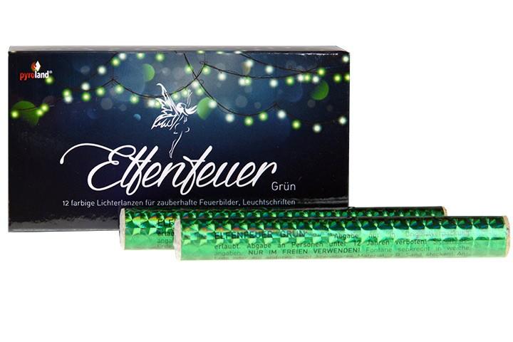 Elfenfeuer - Lichterlanzen Grün