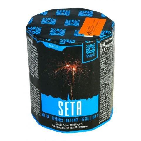 Seta - Kleine 10 Schuss Batterie mit kräftigen Effekten