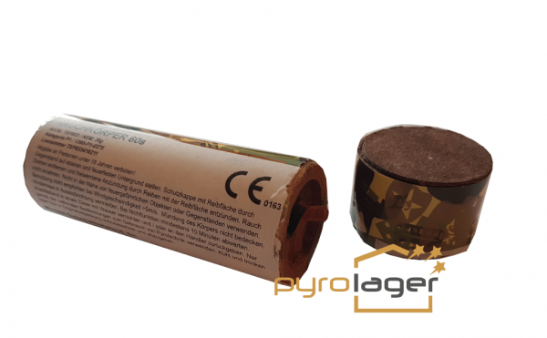 TXF933 - Orange Rauchkörper mit Reibezünder von Triplex