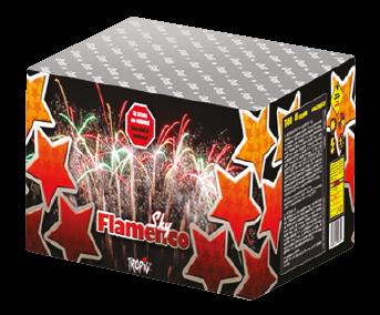 TB60 - Sky Flamenco F3 Feuerwerk