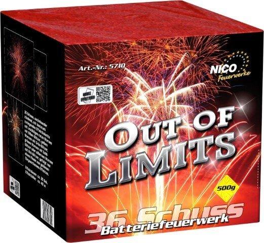 Nico Out of Limits 36 Schuß