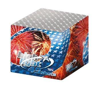 High Light 2 - TW32 - Satte Zerleger und große, toll kombinierte Effekte als F3 Feuerwerk