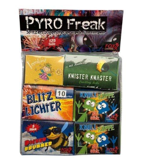 Pyrofreak - Tolles Kinderfeuerwerk als Set