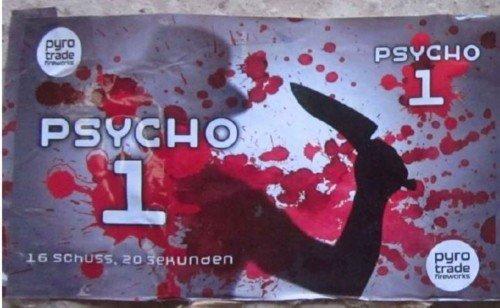 Psycho 1 - 16 Schuss Feuerwerk von PGE
