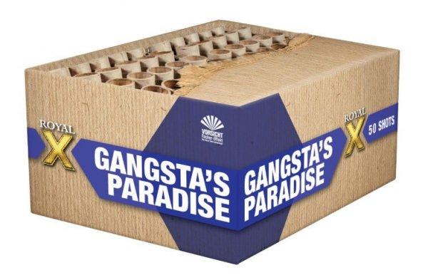 Gangstas Paradise - XXL Feuerwerk mit 50 Schuss in Gold