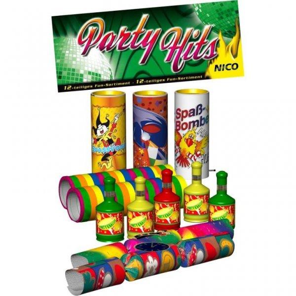 Party Hits - 12 Teiliges Set Tischfeuerwerk