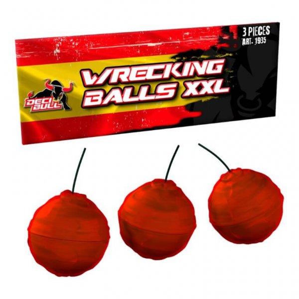 3 dicke Crackling Balls - Wreckling Balls