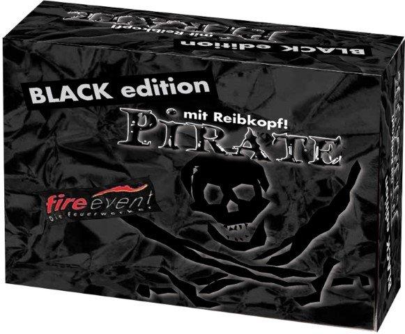 Reibekopfknaller Pirat black edition