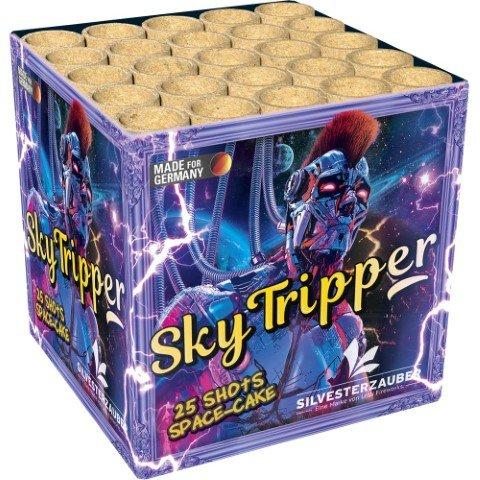 Sky Tripper - Preisgünstige 25 Schuss Feuerwerksbatterie - Produktvideo