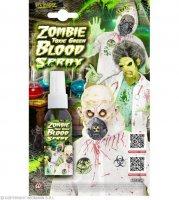 Toxisches giftgrünes Zombieblut als Spray