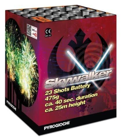 Skywalker - 23 Schuss verschiedene Effekte