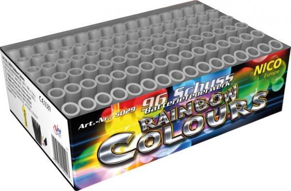 Rainbow Colors - 96 Kometen als Scheibenwicher