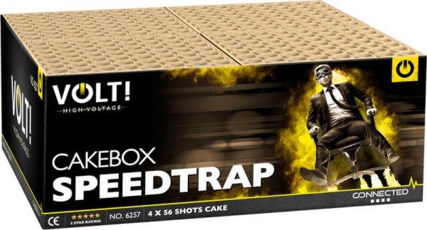Speedtrap irres 224 Schuss Verbundfeuerwerk aus der Volt! Reihe mit schneller Schussfolge