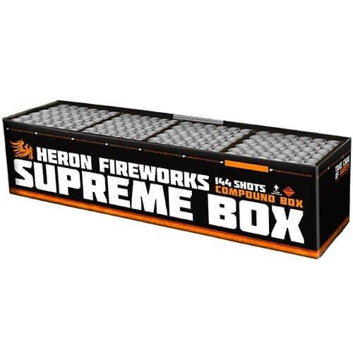 Supreme Box - 144 Schuss XXL Feuerwerk
